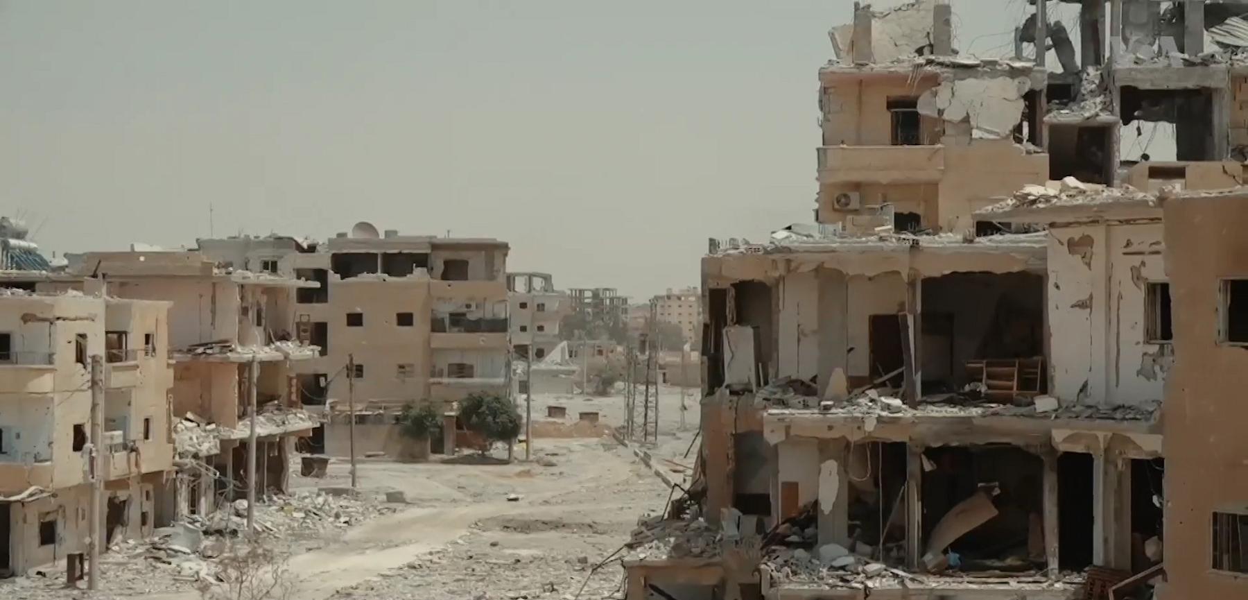 A cidade de Raqqa, na Síria, sofreu um grande impacto durante a guerra no país, quando chegou a ser controlada pelo Estado Islâmico
