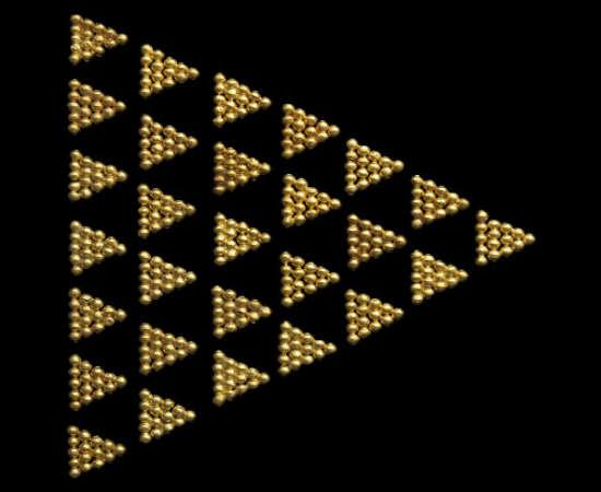 Os triângulos semelhantes são proporcionais, e esta proporção é chamada de razão de semelhança. <br>Foto: Getty Images