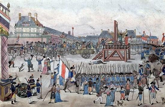 Robespierre passou a ser o líder da revolução. Nessa época, vários opositores do governo foram guilhotinados. Só que o sistema de execução em série de opositores levou, é claro, a novamente deixar o povo insatisfeito. Foi assim que, em 1794, os deputados da Convenção se rebelaram e o próprio Robespierre foi condenado à morte.