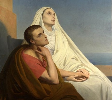 As reflexões de Santo Agostinho são um marco para a filosofia do período medieval. Moldando as ideias de Platão, Agostinho combinou a fé e a razão. (Foto: Wikimedia Commons)