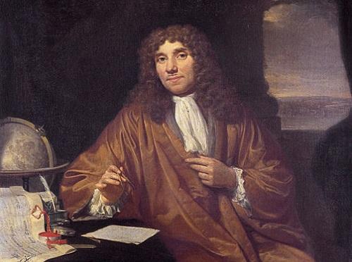 Alguns anos mais tarde, em 1674, o cientista holandês Anton van Leeuwenhoek deu mais um passo importante para a citologia. (Foto: Wikimedia Commons)