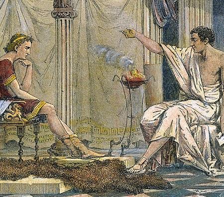 Aristóteles foi seguidor de Platão, mas contestou o trabalho do mestre algumas vezes. Ele se concentrou no estudo das ciências da natureza.(Foto: Wikimedia Commons)