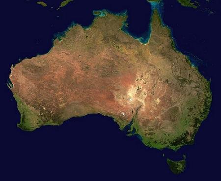 Durante a colonização, a primeira função da Austrália não foi das mais lucrativas: os britânicos transformaram o território numa colônia penal. Mas logo eles perceberam que a Austrália poderia ser um terreno fértil para a agropecuária. (Foto: Wikimedia Commons)