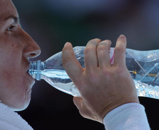4 - Beba bastante água!