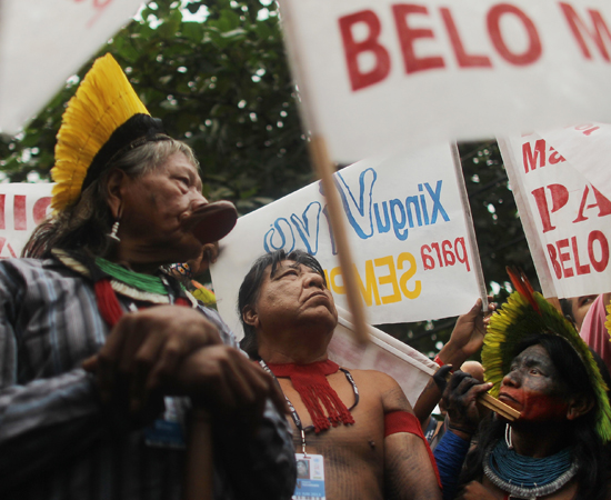 Polêmica da usina de Belo - Monte - Clique em Leia Mais e veja os detalhes.