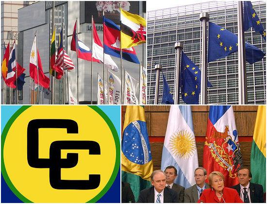A União Europeia e o Mercosul são os dois blocos econômicos mais conhecidos dos brasileiros, mas não são os únicos. Veja 12 blocos, criados ou ainda em discussão, com grande importância para a economia.
