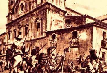 CABANAGEM - Após a Independência brasileira, a província do Grão-Pará enfrentava uma situação delicada.  Pobreza, doenças e a irrelevância política da região no cenário nacional foram algumas das causas da Cabanagem, entre 1835 e 1840.