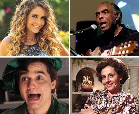 Passe as fotos as seguir para conhecer as vocações acadêmicas de artistas brasileiros famosos.