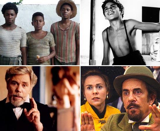 Os filmes listados a seguir são adaptações de livros de grandes autores brasileiros. Para estudar, leia as obras e trace paralelos com o conteúdo dos filmes.