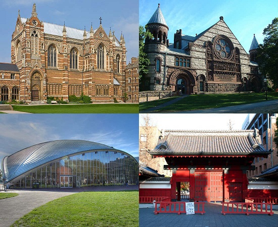 Estudo financiado pela revista Time aponta as melhores instituições do mundo em 2013; saiba mais sobre elas