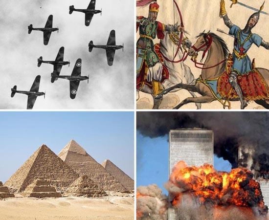 Passe as fotos a seguir para ver os conteúdos de História que caem no Enem e nos vestibulares.