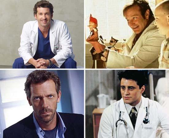 Você se lembra de todos esses médicos de séries, filmes e jogos?