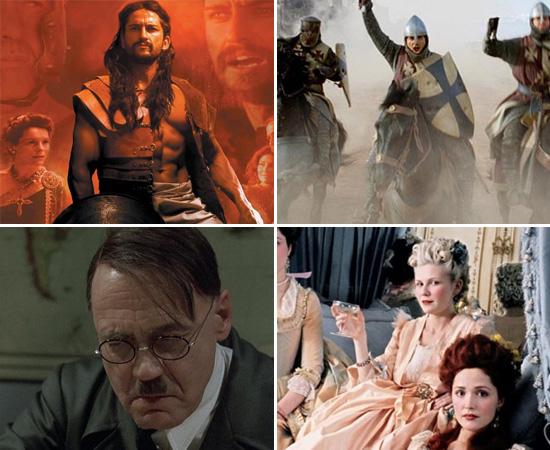 Veja as imagens a seguir para conhecer os filmes. Mas, lembre-se: tratam-se de ficções e servem apenas como base para análises. Assista às obras e faça paralelos com os conteúdos que você aprende na escola.