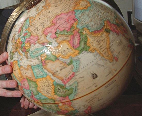 CARTOGRAFIA - Estude sobre mapas, coordenadas geográficas, fusos horários, meridianos, paralelos, longitudes e latitudes.