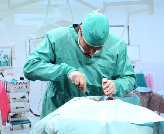 Eles também escolhem se tornar cirurgiões.