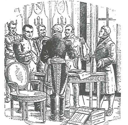 Conquistar toda a Europa, mas sem deixar a comida perder a validade. Napoleão queria uma forma de manter as rações diárias do exército durante guerra. Por isso, ofereceu um prêmio de 12 mil francos para quem inventasse uma forma eficiente de armazenar comida por longos períodos. (Foto: Wikimedia Commons)