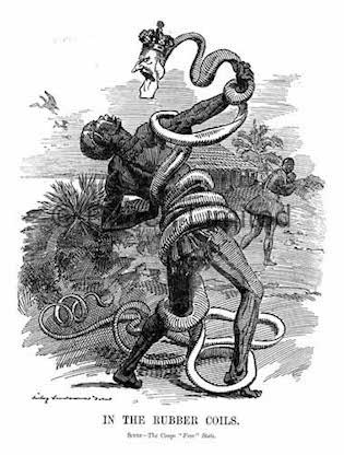 As armas de fogo, desconhecidas pela maior parte dos povos africanos naquele período, não foram as únicas armas utilizadas para dominar o continente. As mentiras e a trapaça também foram largamente usadas nesse processo. Um exemplo foi com o então rei Lobengula, do povo Ndebele, que ocupava o território que hoje corresponde ao Zimbábue. Ele foi levado a assinar um contrato em que cederia terras ao magnata britânico Cecil Rhodes em troca de proteção. No documento, no entanto, não constava essa contrapartida. Como era analfabeto e não falava inglês, o detalhe passou desapercebido pelo monarca, que vinha de uma cultura onde a palavra dada tinha algum valor. O rei tentou protestar, mas a Inglaterra se fez de desentendida e apoiou a dominação de qualquer forma, levando do Zimbábue toneladas de ouro. (Foto: Wikimedia Commons)