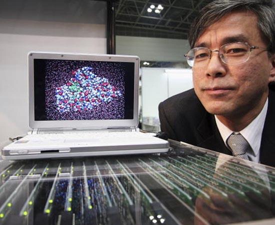 Nanotecnologia - É a ciência que projeta e desenvolve produtos e processos tecnológicos a partir de partículas minúsculas, na escala de nanômetros (1 milímetro é igual a 1 milhão de nanos), como os átomos.