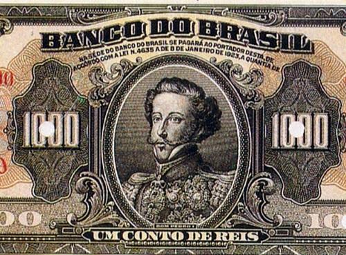 Tantos confrontos tiveram reflexo nas finanças do Brasil. Entre 1825 e 1828, a inflação dobrou. A dívida externa superava 1 bilhão de reais (em valores atualizados) e o governo teve que limitar investimentos. (Foto: Wikimedia Commons)
