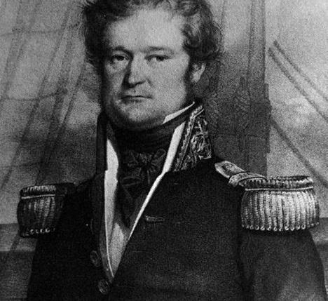 Já o termo Oceania foi criado em  1831. O autor foi o francês Dumont dUrville, o homem que aparece na imagem. (Foto: Wikimedia Commons)