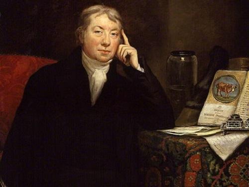 Cem anos depois, em 1798, o mundo agradeceu ao médico inglês Edward Jenner por uma descoberta importantíssima: a primeira vacina contra a varíola. (Foto: Wikimedia Commons)