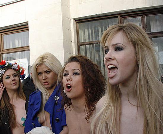 Movimento Femen - Clique em Leia Mais e veja como o tema pode cair no vestibular.