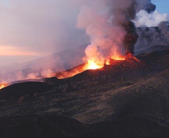 FORÇAS INTERNAS - Estude sobre tectonismo, vulcanismo e abalos sísmicos.