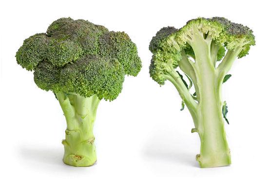 Vegetais de folhas verdes escuras como couve, espinafre e brócolis são ótimas fontes de vitamina E - que é um antioxidante, ou seja, ajuda a combater e neutralizar os radicais livres, que danificam as membranas celulares - e ácido fólico. Imagina-se que o ácido fólico protege o cérebro através da redução de aminoácidos no sangue. Altos níveis de aminoácidos como a homocisteína, por exemplo, pode levar à degeneração dos neurônios. (Imagem: Wikimedia Commons)
