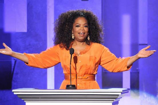 Oprah Winfrey - Vendedora de mercearia
