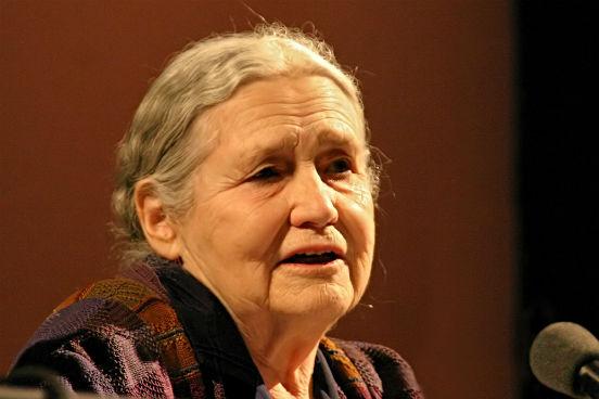 <strong>Doris Lessing</strong> nasceu na Pérsia, em 1919, de pais britânicos. Ela deixou a escola aos 14 anos e passou a ser autodidata desde então. Ao longo da vida, Doris escreveu obras de temas bastante variados, desde a ficção científica até a autobiografia. Ela foi a mulher mais velha a receber o Prêmio Nobel de Literatura, em 2007, quando tinha 88 anos.