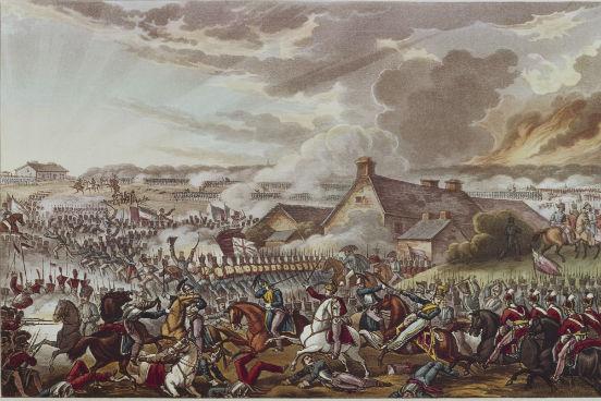 Napoleão chegou a vencer tropas prussianas na Bélgica, mas dois dias depois foi derrotado definitivamente em Waterloo. Chegava ao fim não só o Governo dos Cem Dias, mas também toda a Era Napoleônica. (Imagem: Hulton Archive/Getty Images)