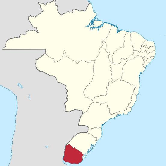 Desde 1680, a região da Província Cisplatina era disputada pelas coroas de Portugal e Espanha. Sua localização, considerada estratégica, proporcionava grande domínio sobre a navegação em todo o rio da Prata, bem como acesso aos rios Paraná e Paraguai. (Imagem: Wikimedia Commons)