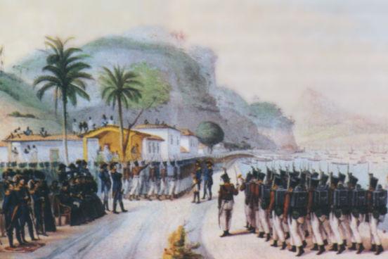 O primeiro nome da região foi Colônia do Sacramento, dado por Portugal em 1680. No entanto, com o Tratado de Santo Ildefonso, em 1777, o território passou a ser domínio da Espanha. Tudo permaneceu assim até 1816, quando tropas da coroa portuguesa invadiram a região e entraram em disputa com o batalhão do general uruguaio José Artigas. (Imagem: Wikimedia Commons)