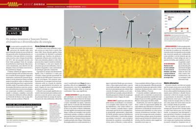 A matéria premiada usou texto, fotos e gráficos para explicar a dinâmica do petróleo no mundo.