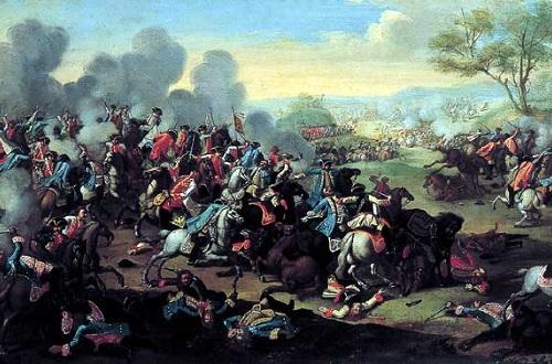 A Guerra dos Sete Anos, entre 1756 e 1763, ocorreu na Europa, mas teve consequências no Novo Mundo. Grande vencedora do conflito, a Inglaterra aumentou os impostos sobre suas 13 colônias americanas para restaurar o equilíbrio financeiro dos colonizadores. (Foto: Wikimedia Commons)