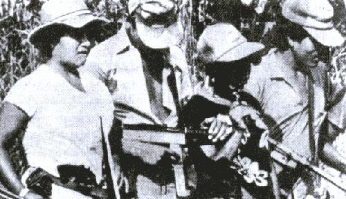 A maior movimentação de tropas do exército dentro do Brasil no século 20 foi durante a ditadura: o exército enviou milhares de soldados para a região do Araguaia, no Tocantins, para combater a guerrilha.