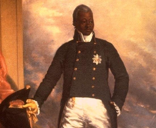 HENRIQUE DO HAITI - 1807.  Nascido escravo em Granada, participa da luta do Haiti contra as tropas francesas, em 1791, e assume a presidência do país, em 1807. Em 1811, proclama a si mesmo imperador. Durante seus nove anos de reinado, Henrique cria uma nobreza haitiana, com 47 títulos.