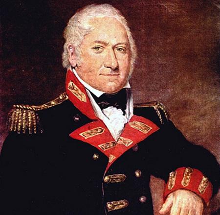 Em 1804, já durante as guerras napoleônicas, o exército inglês usou a invenção de Henry Shrapnel em batalha. Com o sucesso da arma, Shrapnel foi promovido a tenente-coronel. (Foto: Wikimedia Commons)