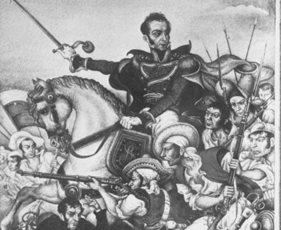 INDEPENDÊNCIA DA AMÉRICA ESPANHOLA - Estude sobre Simón Bolívar, a Guerra Hispano-Americana, a Conferência do Panamá, o Congresso de Viena, a Santa Aliança e a Doutrinha Monroe.
