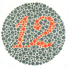 """Todas as pessoas devem ver o número 12 nesse quadro. <a href=""""http://guiadoestudante.abril.com.br/vestibular/noticias/descobrir-daltonismo-pode-melhorar-vida-escolar-545415.shtml"""" target=""""_blank"""">Leia mais sobre daltonismo</a>."""