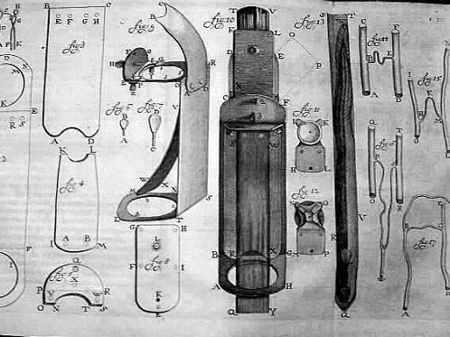 Leeuwenhoek aperfeiçoou os microscópios, tornando visíveis corpos minúsculos, como bactérias. (Foto: Wikimedia Commons)