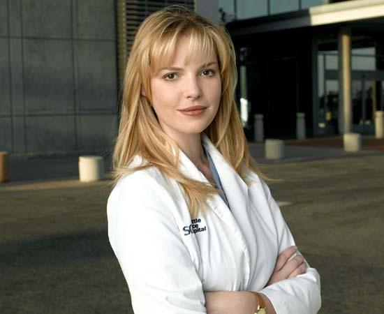 Dra. Izzie Stevens da série 'Grey's Anatomy'.