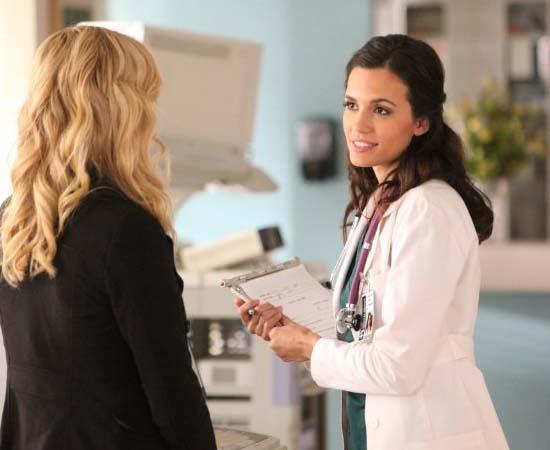 Dra. Meredith Fell da série 'The Vampires Diaries'.