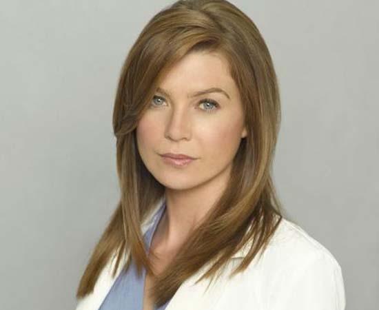 Dra. Meredith Grey da série 'Grey's Anatomy'.