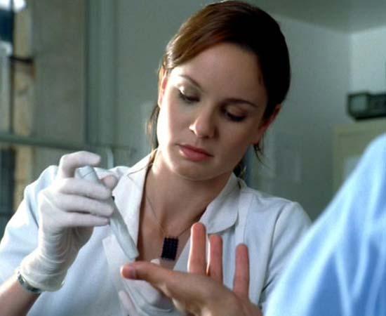 Dra. Sara Tancredi da série 'Prison Break'.