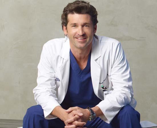 Dr. Derek Shepherd da série 'Grey's Anatomy'.