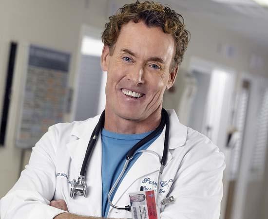 Dr. Perry Cox da série 'Scrubs'.