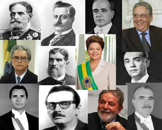 Relembre os fatos mais importantes do governo de cada presidente que o Brasil já teve!