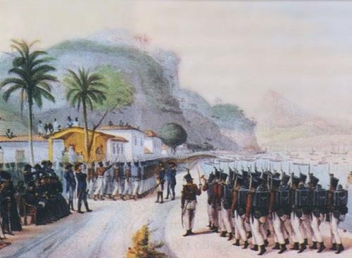 Em 1825, o governo tomou os bens de portugueses que ainda contestavam a Independência. Os opositores foram intimados a deixar o país. (Foto: Wikimedia Commons)