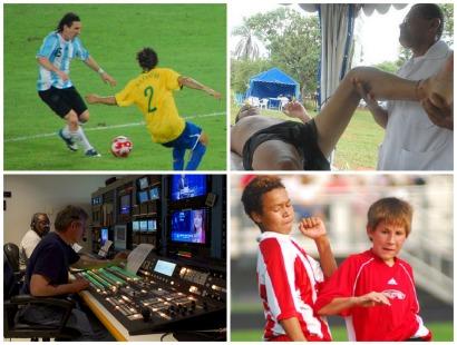 Não nasceu com o talento do Neymar, mas quer trabalhar com futebol? Veja 10 profissionais que são muito úteis no mundo do esporte.